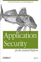 Okładka książki Application Security for the Android Platform. Processes, Permissions, and Other Safeguards