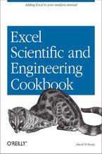 Okładka książki Excel Scientific and Engineering Cookbook