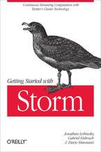Okładka książki Getting Started with Storm