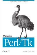 Okładka książki Mastering Perl/Tk. Graphical User Interfaces in Perl