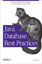 Java Database Best Practices. Persistence Models and Techniques for Java Database Programming