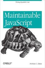 Okładka książki Maintainable JavaScript. Writing Readable Code
