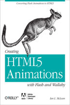 Okładka książki Creating HTML5 Animations with Flash and Wallaby. Converting Flash Animations to HTML5