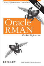 Okładka książki Oracle RMAN Pocket Reference