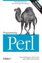 Okładka książki Programming Perl. Unmatched power for text processing and scripting. 4th Edition
