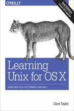 Okładka książki Learning Unix for OS X. Going Deep With the Terminal and Shell. 2nd Edition
