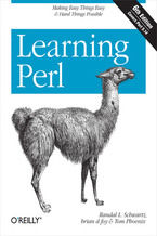 Okładka książki Learning Perl. 6th Edition