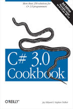 Okładka książki C# 3.0 Cookbook. 3rd Edition
