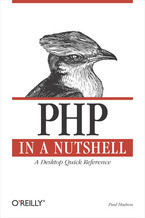 Okładka książki PHP in a Nutshell