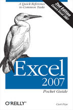 Okładka książki Excel 2007 Pocket Guide. 2nd Edition