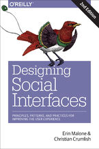 Okładka książki Designing Social Interfaces. Principles, Patterns, and Practices for Improving the User Experience. 2nd Edition