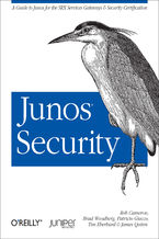Okładka książki Junos Security. A Guide to Junos for the SRX Services Gateways and Security Certification