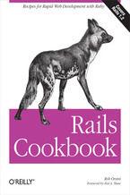 Okładka książki Rails Cookbook. Recipes for Rapid Web Development with Ruby