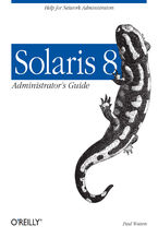 Okładka książki Solaris 8 Administrator's Guide. Help for Network Administrators