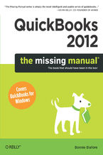 Okładka książki QuickBooks 2012: The Missing Manual