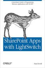 Okładka książki SharePoint Apps with LightSwitch