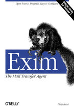 Okładka książki Exim: The Mail Transfer Agent. The Mail Transfer Agent