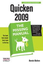 Okładka książki Quicken 2009: The Missing Manual