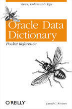 Okładka książki Oracle Data Dictionary Pocket Reference