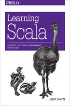 Okładka książki Learning Scala. Practical Functional Programming for the JVM