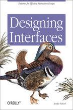 Okładka książki Designing Interfaces. Patterns for Effective Interaction Design