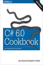 Okładka książki C# 6.0 Cookbook. 4th Edition