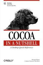Okładka książki Cocoa in a Nutshell. A Desktop Quick Reference