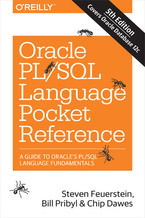 Okładka książki Oracle PL/SQL Language Pocket Reference. 5th Edition