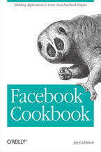 Okładka książki Facebook Cookbook. Building Applications to Grow Your Facebook Empire