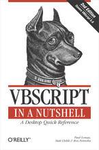 Okładka książki VBScript in a Nutshell. 2nd Edition