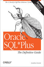 Okładka książki Oracle SQL*Plus: The Definitive Guide. The Definitive Guide. 2nd Edition