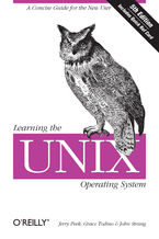 Okładka książki Learning the Unix Operating System. A Concise Guide for the New User. 5th Edition