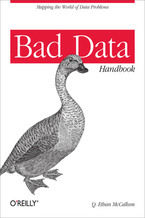 Okładka książki Bad Data Handbook. Cleaning Up The Data So You Can Get Back To Work