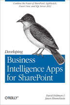 Okładka książki Developing Business Intelligence Apps for SharePoint. Combine the Power of SharePoint, LightSwitch, Power View, and SQL Server 2012