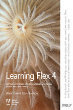 Okładka książki Learning Flex 4. Getting Up to Speed with Rich Internet Application Design and Development