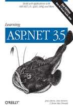 Okładka książki Learning ASP.NET 3.5. Build Web Applications with ASP.NET 3.5, AJAX, LINQ, and More. 2nd Edition