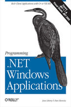 Okładka książki Programming .NET Windows Applications