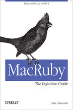 Okładka książki MacRuby: The Definitive Guide. Ruby and Cocoa on OS X