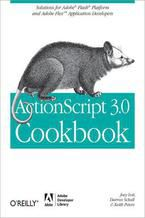 Okładka książki ActionScript 3.0 Cookbook. Solutions for Flash Platform and Flex Application Developers