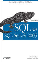 Okładka książki Learning SQL on SQL Server 2005