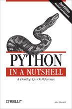 Okładka książki Python in a Nutshell. 2nd Edition