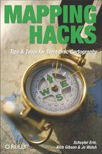 Okładka książki Mapping Hacks. Tips & Tools for Electronic Cartography