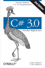 Okładka książki C# 3.0 Pocket Reference. Instant Help for C# 3.0 Programmers. 2nd Edition