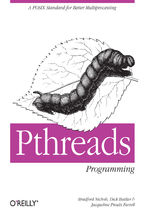 Okładka książki PThreads Programming. A POSIX Standard for Better Multiprocessing