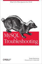 Okładka książki MySQL Troubleshooting. What To Do When Queries Don't Work