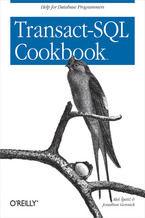 Okładka książki Transact-SQL Cookbook