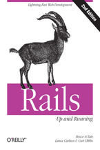 Okładka książki Rails: Up and Running. Lightning-Fast Web Development. 2nd Edition