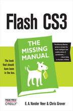 Okładka książki Flash CS3: The Missing Manual