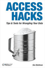 Okładka książki Access Hacks. Tips & Tools for Wrangling Your Data