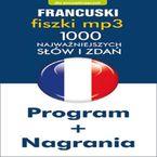 Francuski Fiszki mp3 1000 najważniejszych słów i zdań